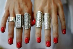Ezüst gyűrűk kedvező áron!